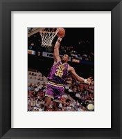 Framed Karl Malone 1990 Action