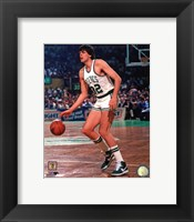 Framed Kevin McHale 1983 Action