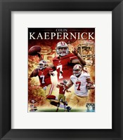Framed Colin Kaepernick 2012 Portrait Plus