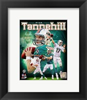 Framed Ryan Tannehill 2012 Portrait Plus