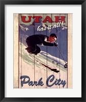 Framed Ski Park City