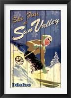 Framed Ski Sun Valley