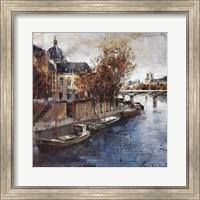Framed Ile de la Cite, Paris