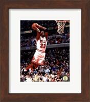 Framed Michael Jordan 1994-95 Action