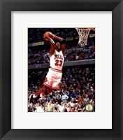Framed Michael Jordan 1994-95 Action