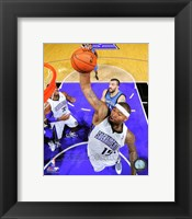 Framed DeMarcus Cousins on the court 2012-13