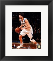Framed Ricky Rubio 2012-13 Action