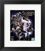 Framed Terrell Suggs 2013 Portrait Plus