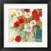 Vibrant Bouquet II Framed Print