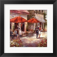 Framed Cafe Afternoon I