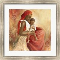 Framed Beauty of Love I