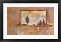 Framed PAINTER'S LAKE I