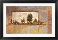 Framed PAINTER'S LAKE II