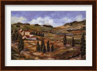 Framed CHIANTI AFTERNOON I