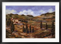 Framed CHIANTI AFTERNOON I