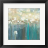 Framed Aqua Light