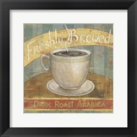 Framed Fresh Brew I