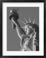 Liberty with Torch Framed Print