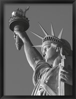 Framed Liberty with Torch