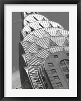 Chrysler Detail Framed Print