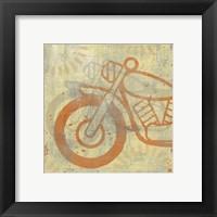 Framed Motorcycle I