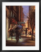 Fifty-Seventh Street Framed Print