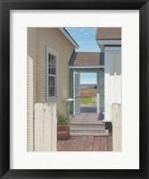 Framed Breezeway