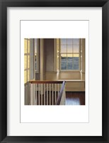 Framed Upstairs