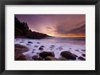 Framed Dawn Monument Cove
