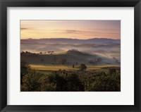 Framed Dawn Mist Rising