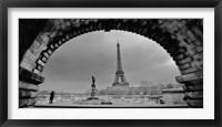 Framed Paris, Under the Bridge