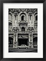 Framed Gran Teatro de la Habana