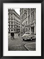Framed Streets of Havana