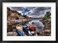 Framed Canoe Break
