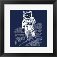 Framed One Giant Leap for Mankind