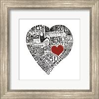 Framed Love in 44 Languages