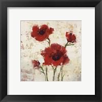 Framed Simply Floral I