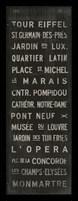 Framed Paris