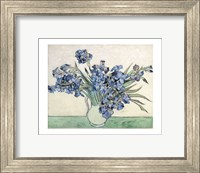 Framed Irises