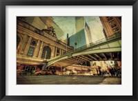 Framed Chrysler Over Grand Central