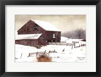 Framed Winter Storm