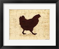 Framed Chicken Foods