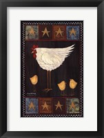 Framed Mother Hen II