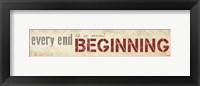 Framed New Beginning
