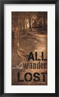 Framed Wander
