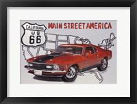Framed Main Street America