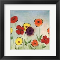 Flowering Garden II Framed Print