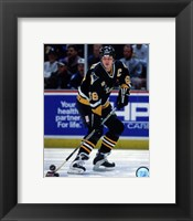 Framed Mario Lemieux 1995-96 Action