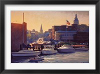 Framed Annapolis Afternoon
