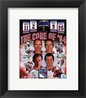 Framed New York Rangers Core Of 1994 Composite